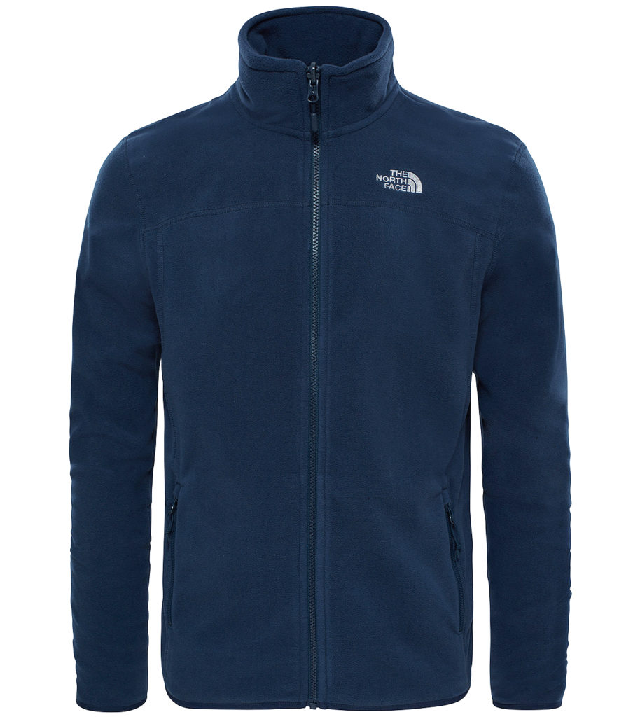 Кофта The North Face 100 Glacier Full Zip Urban Navy, 5 950 руб.