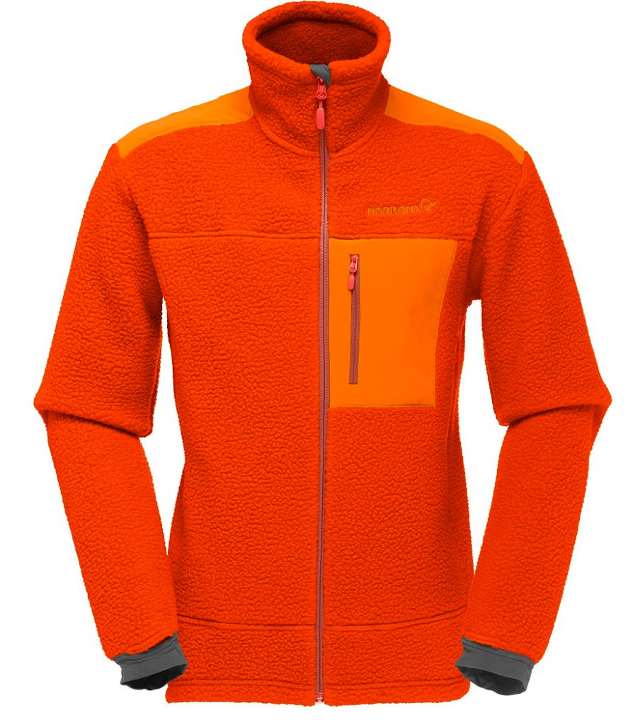Мужская кофта Norrona Trollveggen Thermal Pro Burnt Orange, 15 390 руб.