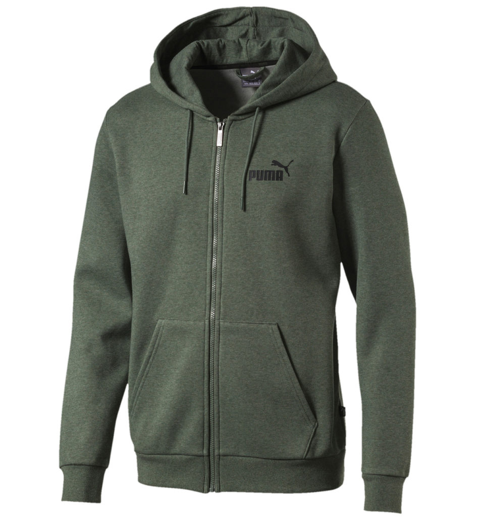 Толстовка Puma Essentials+ Fleece HD JKT, 3 790 руб.